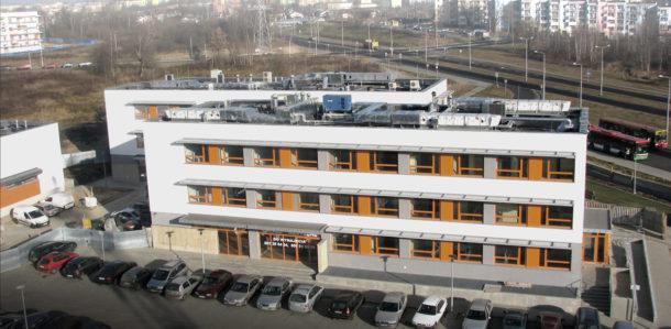 Budynek Centrum Medycznego przy ul.Onyksowej w Lublinie