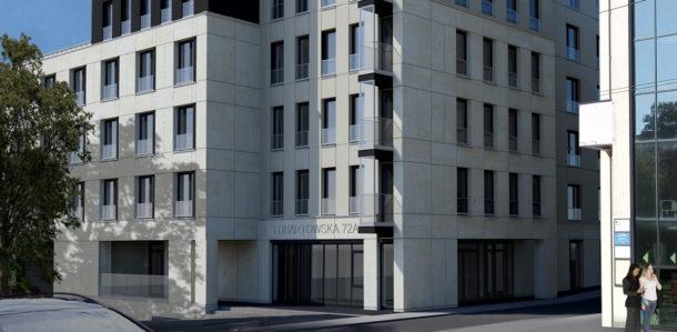 Budynek mieszkalny wielorodzinny z usługami przy ul.Lubartowskiej w Lublinie
